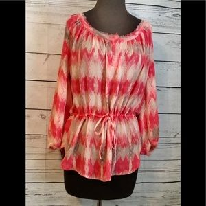 Willi Smith Tunic Top